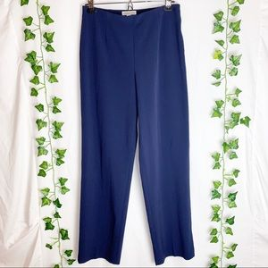 COLDWATER CREEK Navy Blue Trousers Office Pants